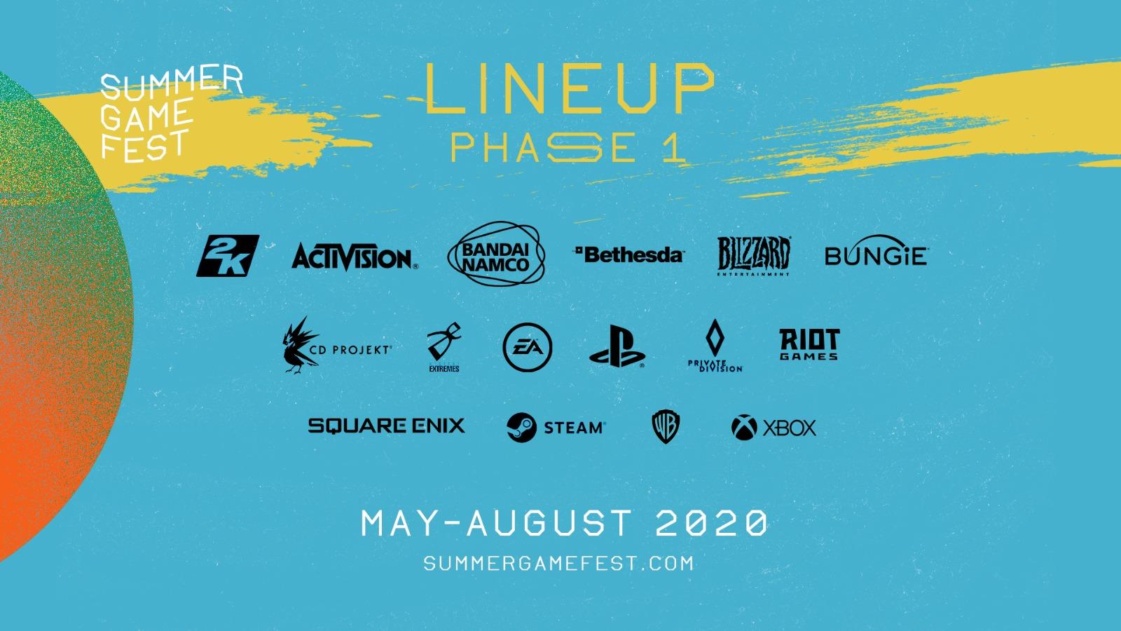 Summer Game Fest Line Up