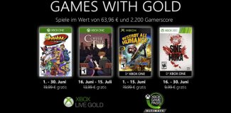 Xbox Games with Gold im Juni 2020