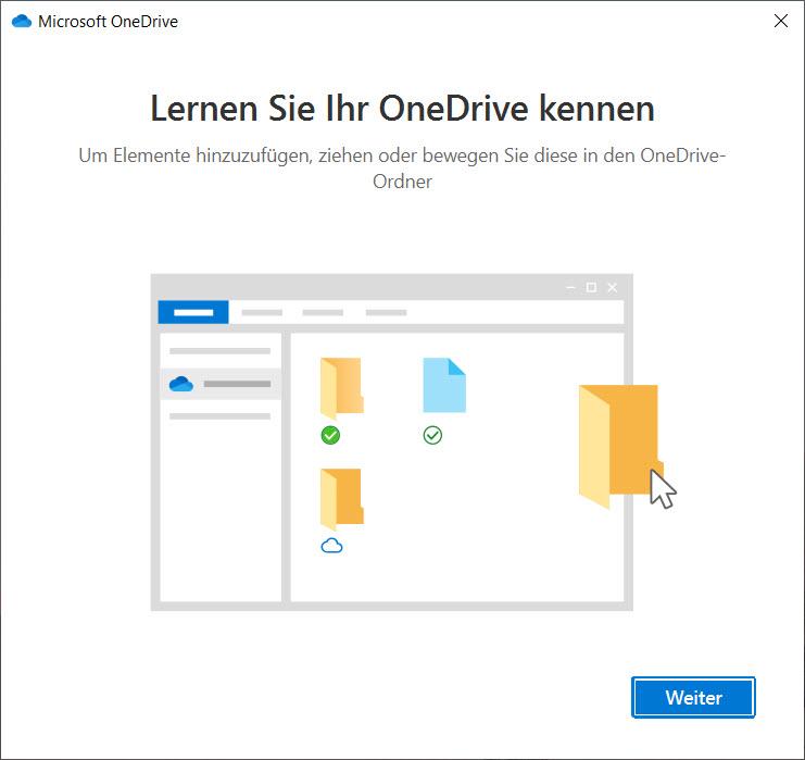 OneDrive unter Windows 10 einrichten - Einführung