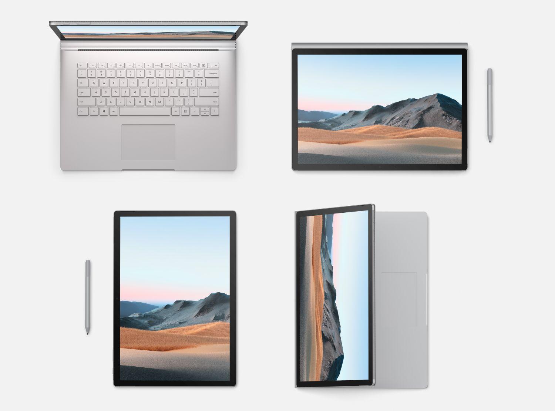 Surface Book 3 alle Modi