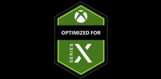 Xbox Series X Logo für optimierte Spiele