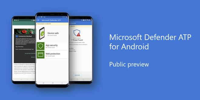 Microsoft Defender ATP schützt jetzt Firmen-Smartphones mit Android