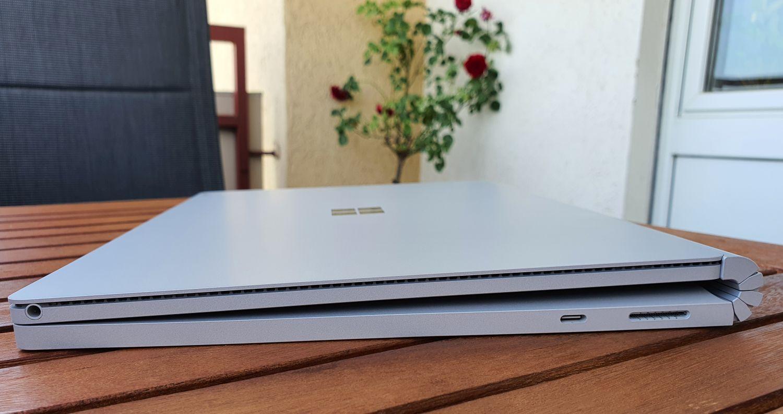 Surface Book 3 von der Seite