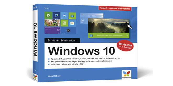 """Promotion: Wir verlosen drei Exemplare von """"Windows 10 Schritt für Schritt"""""""