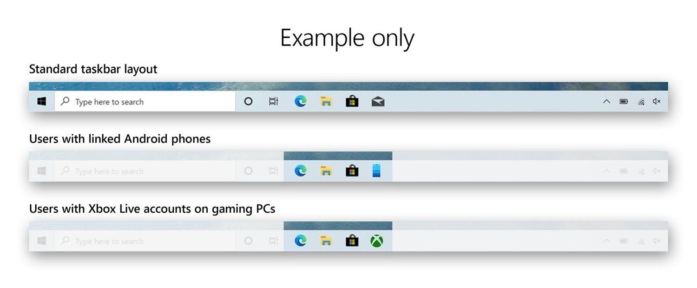 Individuelle Taskleiste in Windows 10