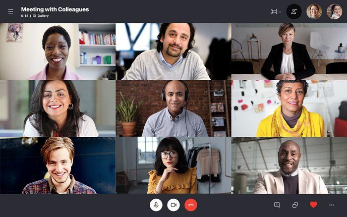 Videokonferenz mit Skype