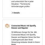 Kostenpflichtiges Abo von Connected Music zur Nutzung der BMW-Spotify-App bei BMW OS7.0