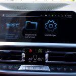 Optionale Dashcam namens BMW Drive Recorder
