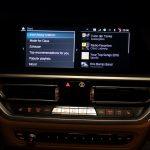 Auswahl von Playlisten in BMW-Spotify-App bei BMW OS7