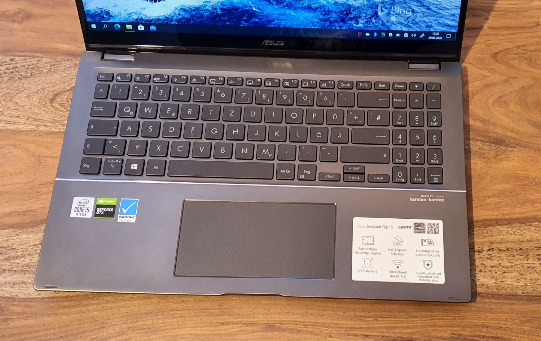 Asus ZenBook Flip Tastatur