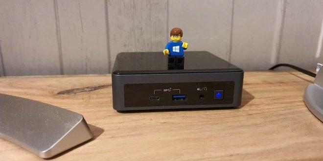 Mini PC Intel NUC10i5FNK ausprobiert: Klein, stark, manchmal laut