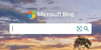 Microsoft Bing neues Logo