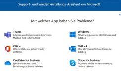 Tipp: Microsoft Support- und Wiederherstellungs-Assistent hilft bei Problemen mit Office und Windows