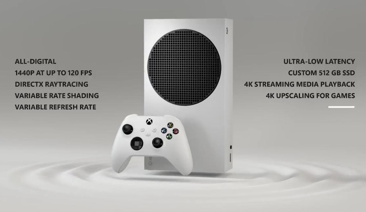 Xbox Series S Spezifikationen