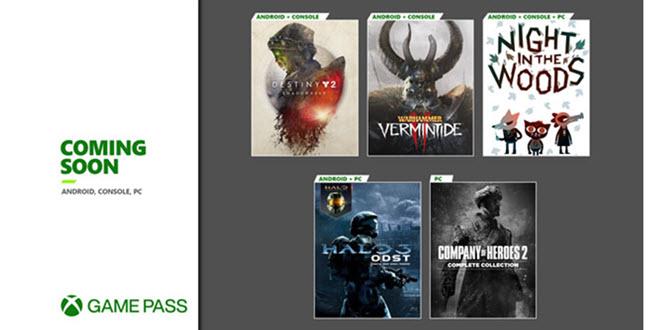 Xbox Game Pass: Zweite Runde an September-Neuzugängen bringt Halo 3: ODST, Destiny 2 und mehr