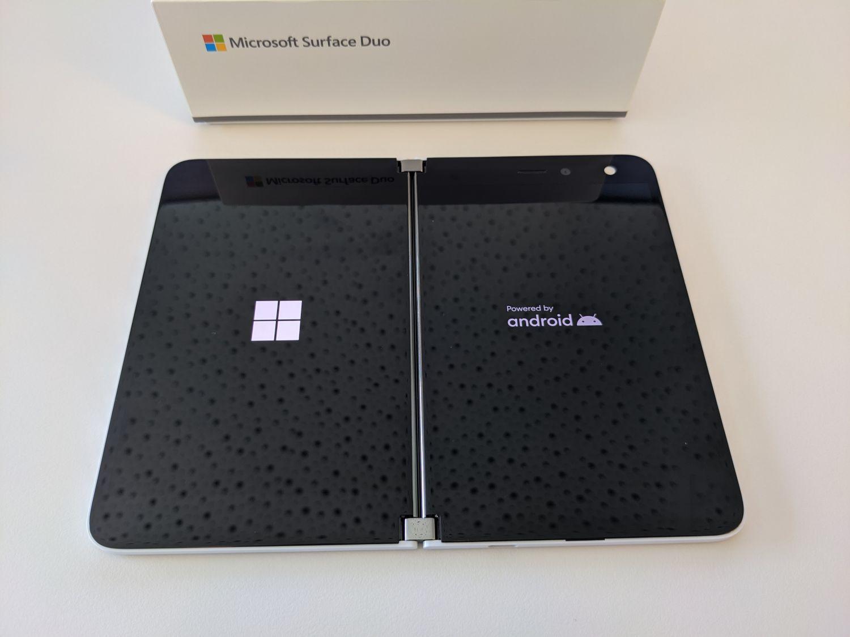 Surface Duo Inbetriebnahme