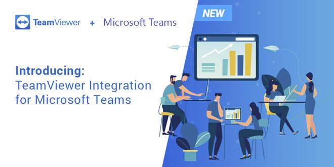 Fernwartungstool TeamViewer integriert sich in Microsoft Teams