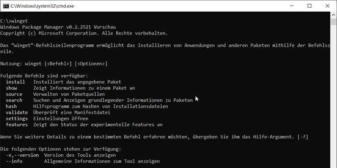 WinGet: Windows Paketmanager kann jetzt Installations-Listen importieren
