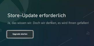 Xbox Microsoft Store Update