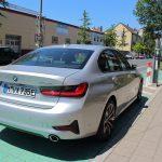 BMW 330e Heckansicht