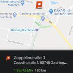 Navi-Ziel ans Auto schicken mittels Smartphone-App BMW Connected