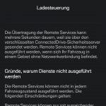 "Ladesteuerung bei ""BMW eDrive Services"" via Smartphone-App."