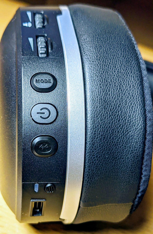 Headset Turtlebeach Stealth 700 Bedienelemente