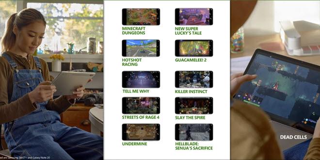 Zehn weitere Xbox-Spiele erhalten Touch-Unterstützung für Android