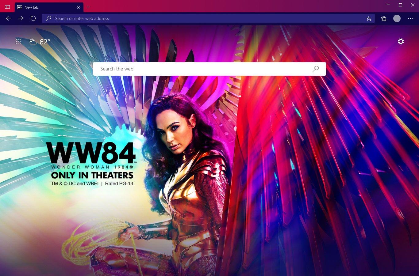 Edge Wonder Woman Theme