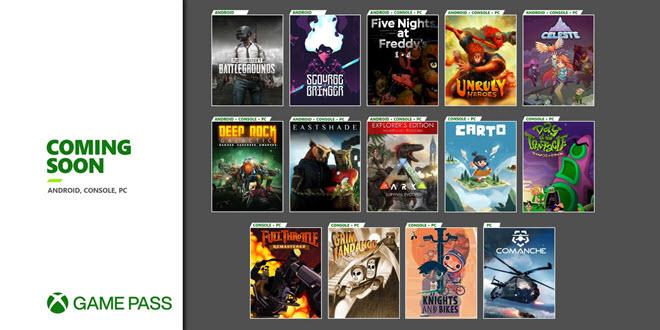 Xbox Game Pass: Microsoft kündigt eine Flut von Neuzugängen an