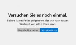 Fehler 0x000001F7: Zugriff auf den Microsoft Store unter Windows 10 aktuell gestört