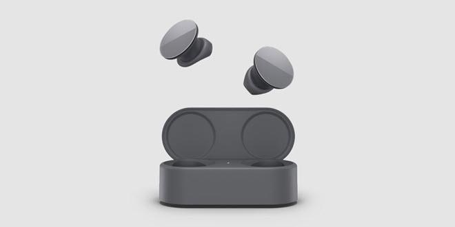Surface Earbuds in Graphit Grau bald auch in Deutschland erhältlich