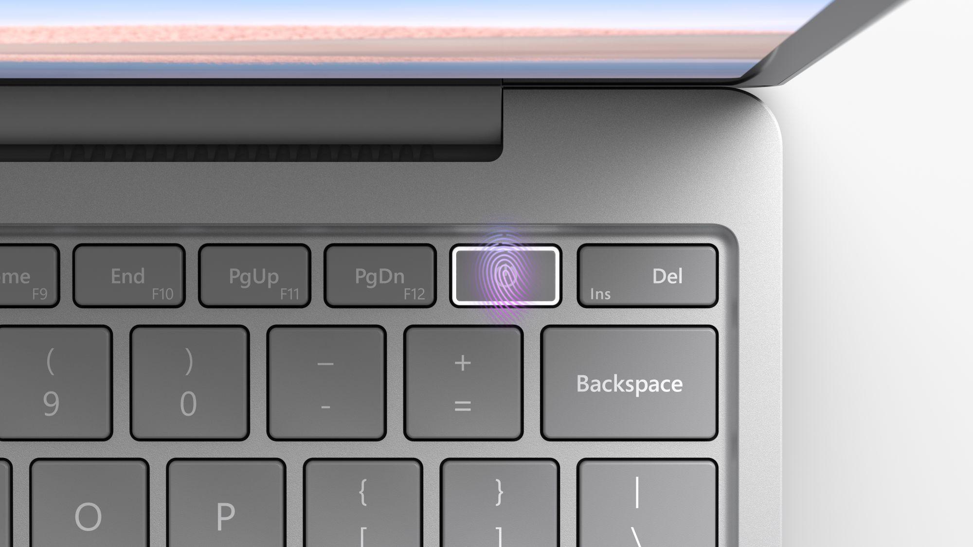 Surface Laptop Go mit Fingerprint Sensor