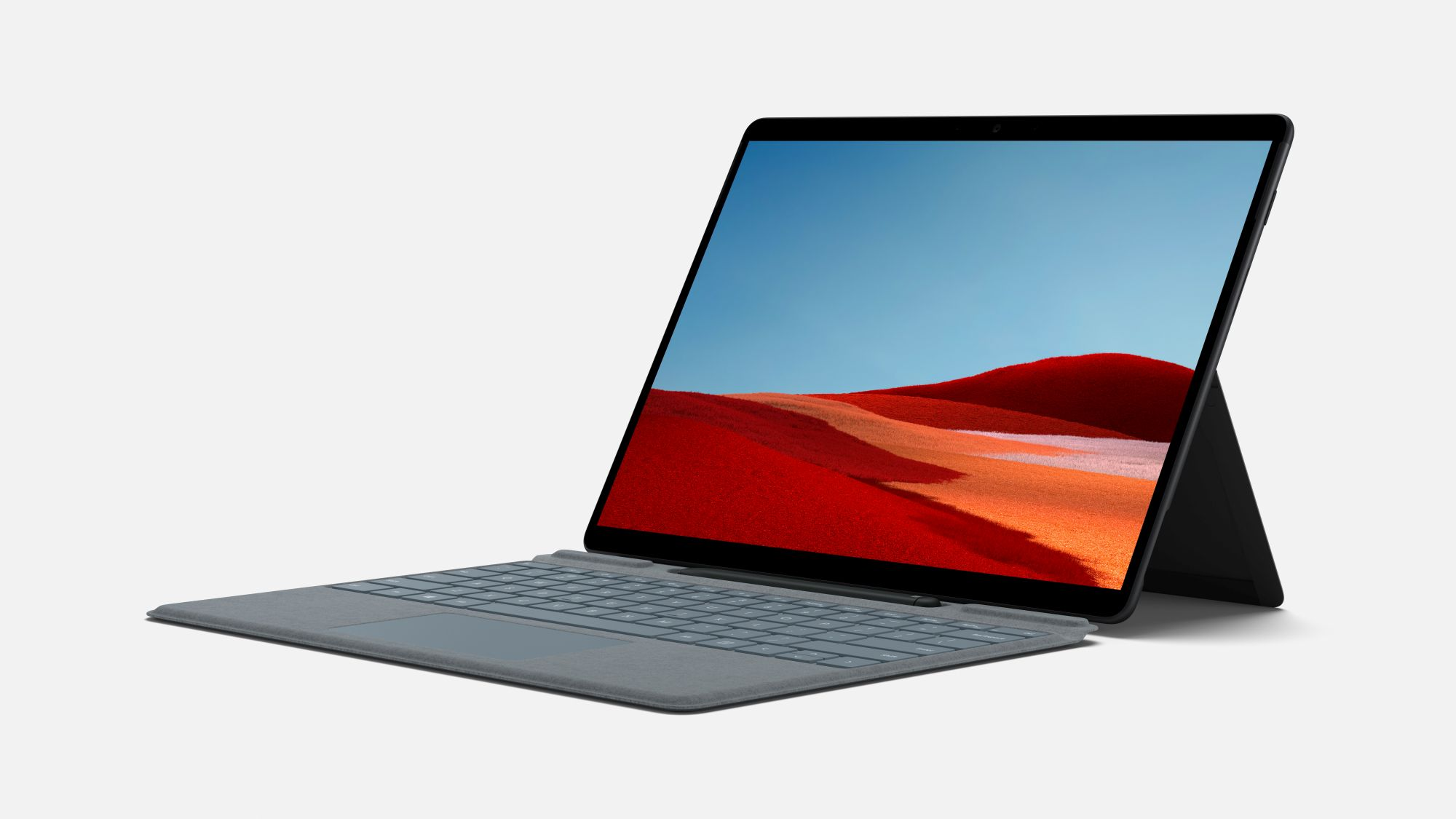 Surface Pro X mit Type Cover