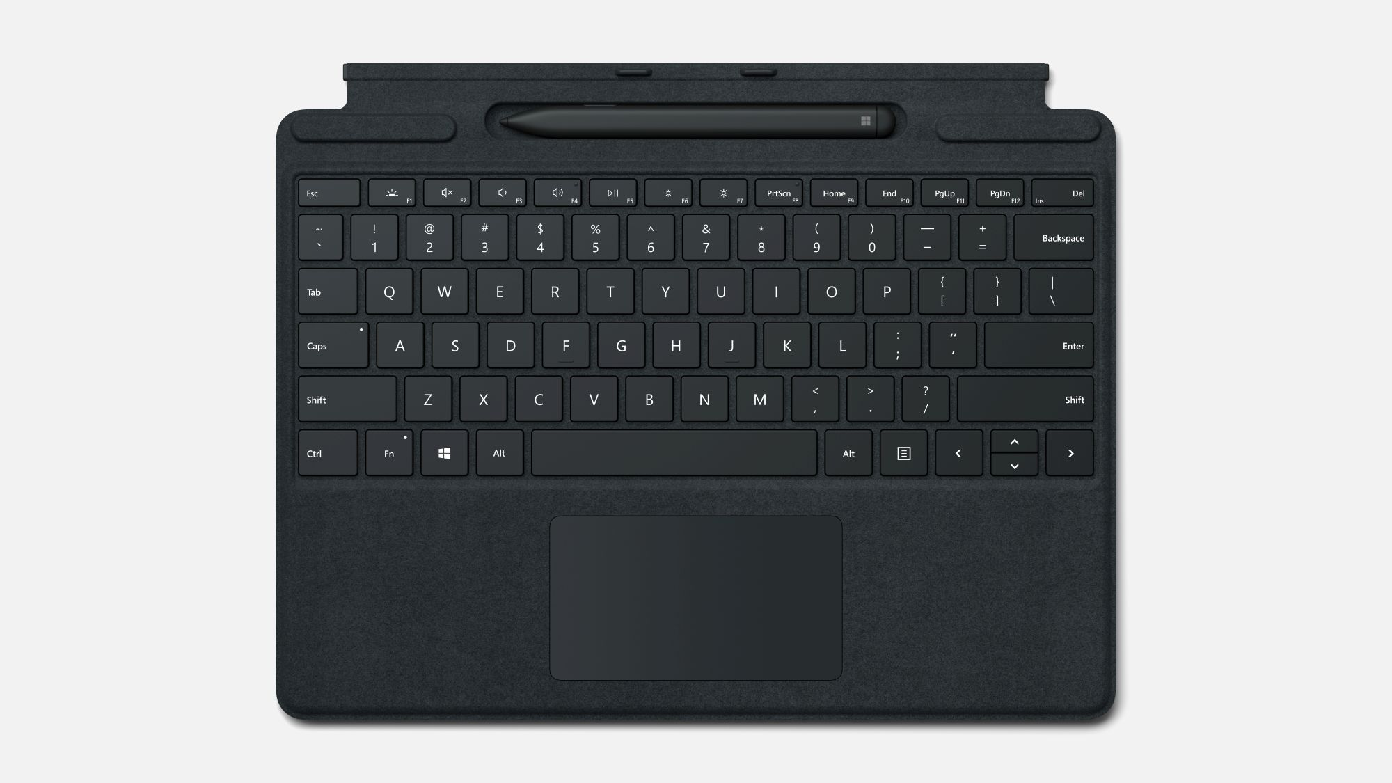 Surface Pro X Type Cover in Schwarz