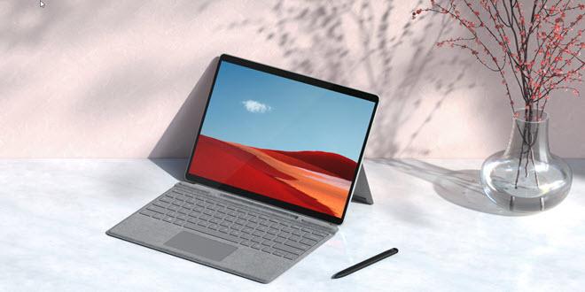 Surface Pro X 2020 Titelbild
