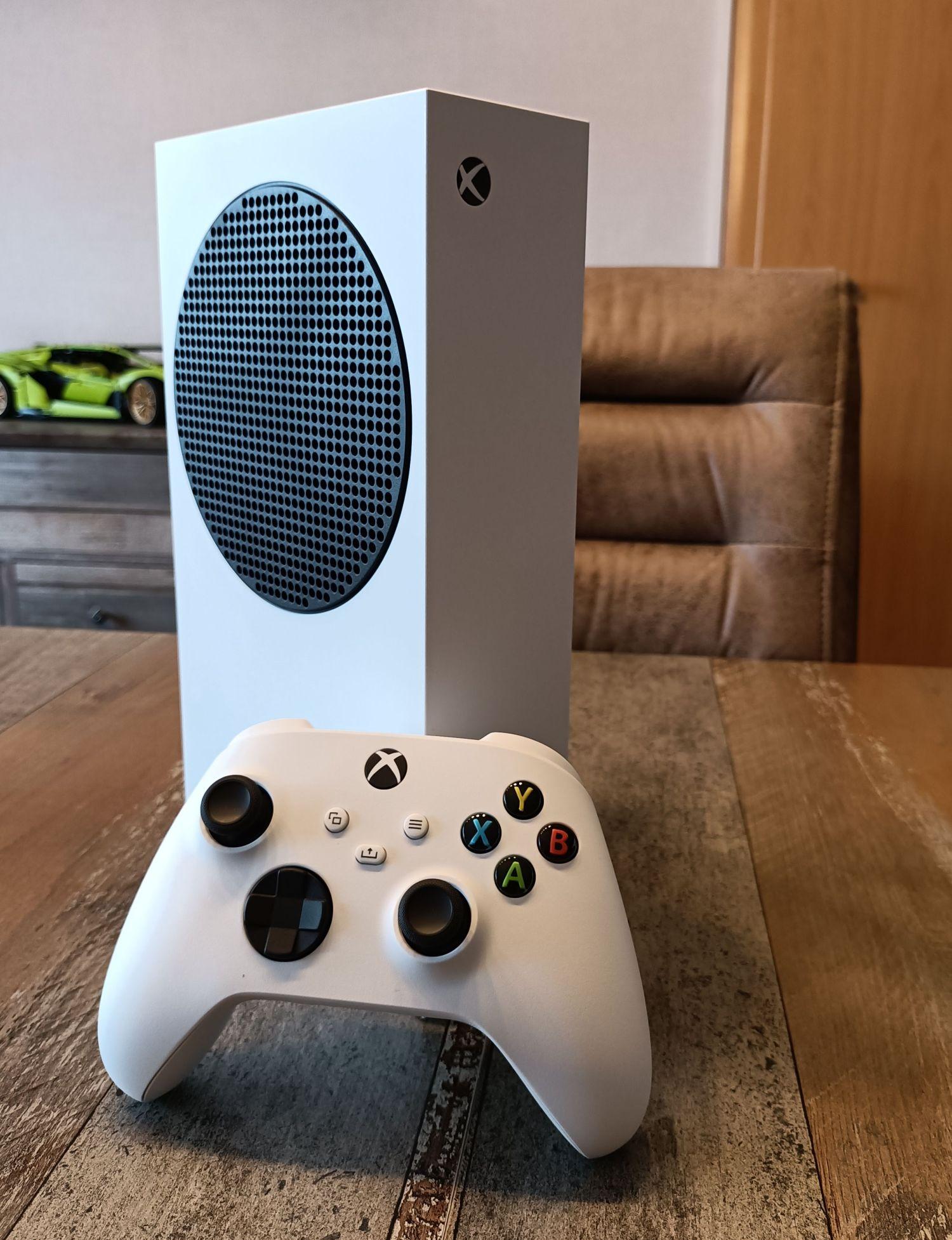 Xbox Series S hochkant