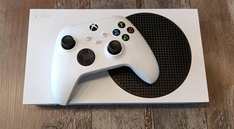 Xbox Series S von oben