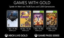 Die Xbox Games with Gold im Dezember 2020