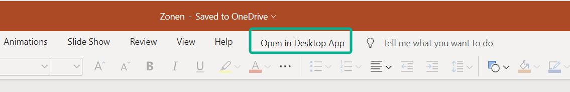 PowerPoint im Browser