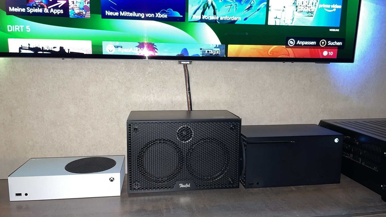 Xbox Series S und X horizontal