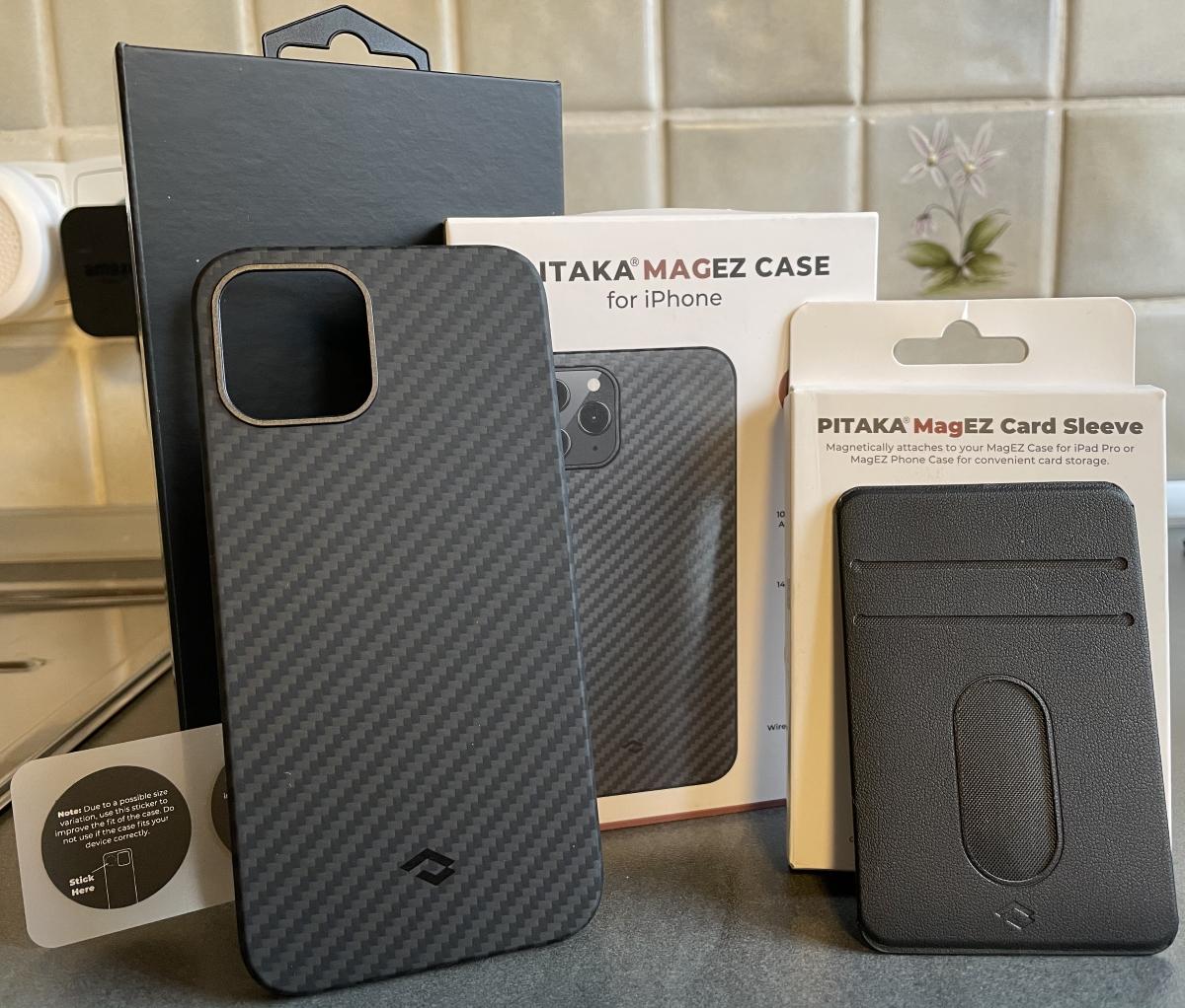 Pitaka Magez Case und Card Sleeve
