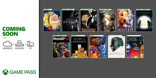 Xbox Game Pass: Die Flut an neuen Spielen reißt nicht ab