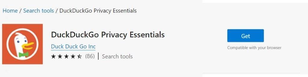 Microsoft Edge AddOn Store: Kompatibilitätsanzeige
