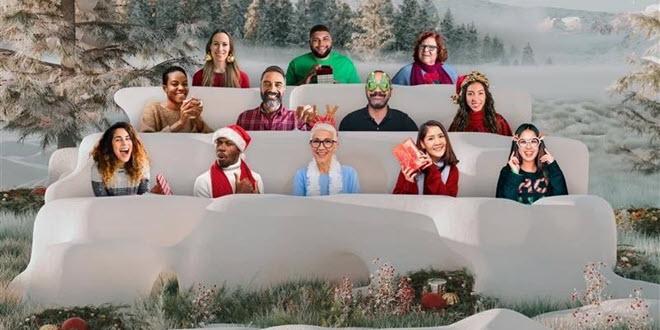 Microsoft Teams: Konferenzen im Schnee, Breakout Rooms und weihnachtliche Hintergründe