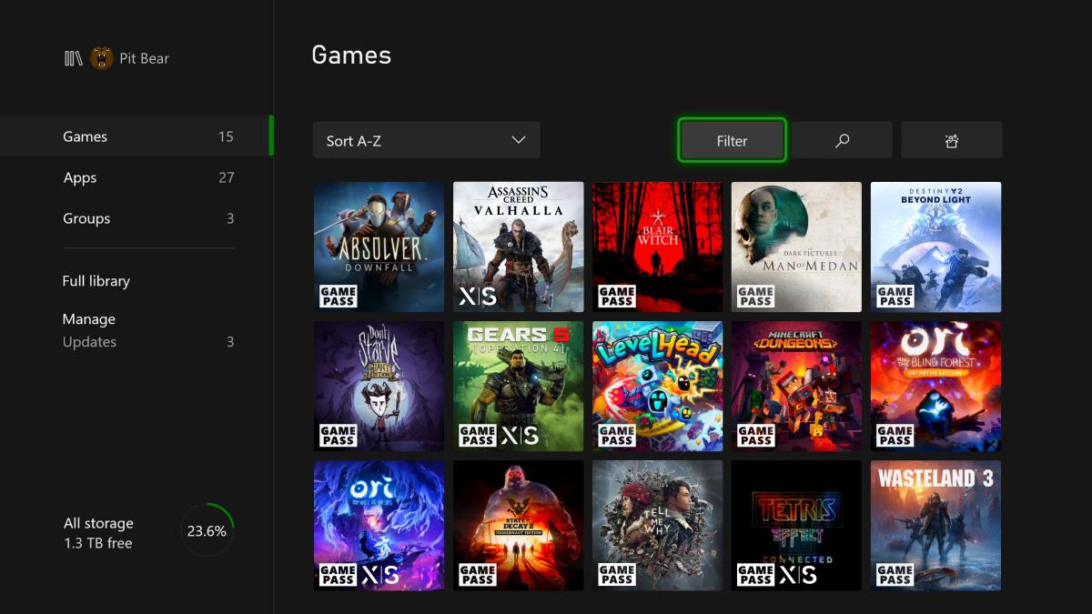Optimiert für Xbox Series X und S