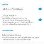 Einstellung für kabelloses Android Auto (Quelle: Dr. Windows).
