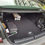 Kofferraum des BMW 530e mit 410 Liter Volumen, statt 530 Litern wie bei der 5er-Limousine ohne Hybrid-Antrieb.