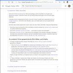 Übersicht zu gespeicherten Positionsdaten bei Google-Diensten (Quelle: Dr. Windows).