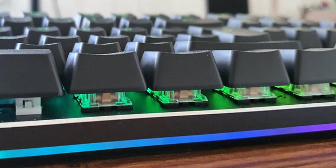 Aukey KM G12: Mechanische Gaming-Tastatur ausprobiert